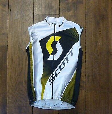 Radweste, Windweste Scott Vest RC Pro white/rc yellow Gr.L