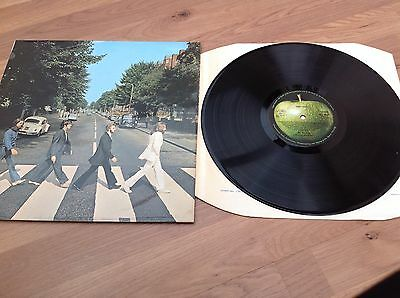 The Beatles Abbey Road LP PCS 7088 Stereo EX/EX Nice Copy Early Pressing