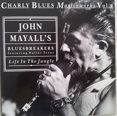 John Mayall's Bluesbreakers  ‎– Life In The Jungle  (CD) Excellent condition