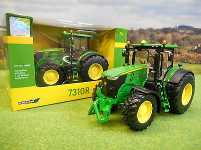 Britains John Deere 7310R  4Wd Tractor 1/32 43088A1 New & Boxed