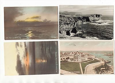 Qty 40 Old Postcards Of The Uk All Shown