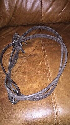 Rubber Reins Brown Full Size