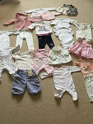O-3 Month Baby Girl Clothes Some New
