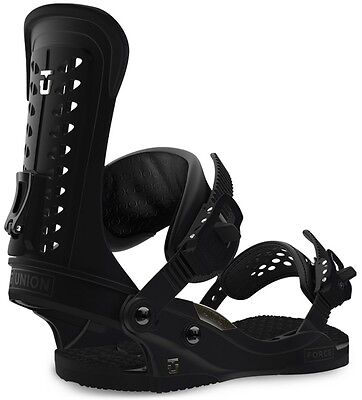 2017 Union Force Snowboard Bindings UK 7-10 Medium Black SAVE 20%