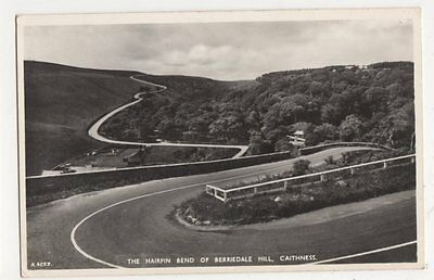 The Hairpin Bend of Berriedale Hill, Caithness RP Postcard, B328
