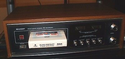 Sharp Solid State 8 Track Player