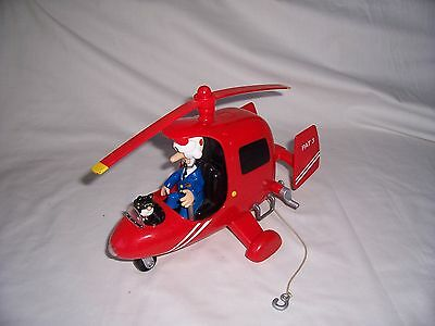 Postman Pat SDS Large Helicopter with lights and sounds figures included.