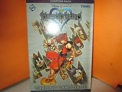 Tomy Kingdom Hearts TCG Chapter Pack SEALED