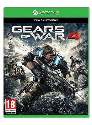 Gears of  War 4 (Xbox One) [New Game]