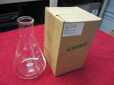 New Kimax 1000mL Erlenmeyer Flask No. 26500 Kimble Qty 1
