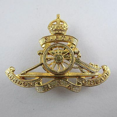 Military Badge 5th Middlesex Royal Field Artillery Brigade Copy Re-Strike