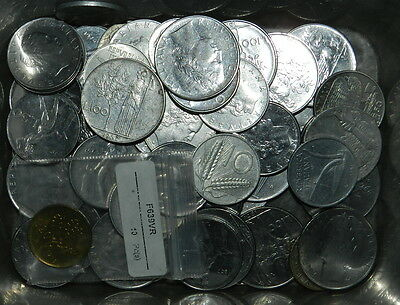 ITALY : 50 PLUS PRE-EURO COINS - Mostly in Better Grades