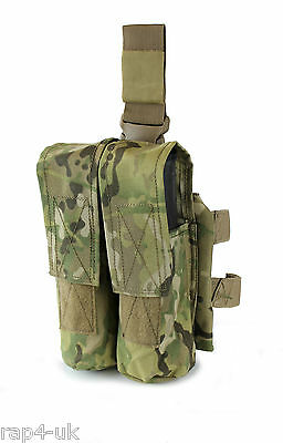 Paintball Pod and Rifle Magazine Drop Leg or Belt Pouch in ECD like Multicam FC8