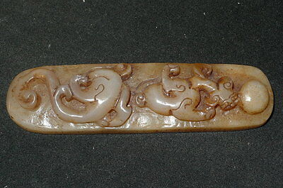 - chinese MingDy jade dragon paperweight