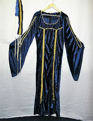 Quality Medieval Costume for Stage/Theatre/Banquets or Fancy Dress - Fits to 16