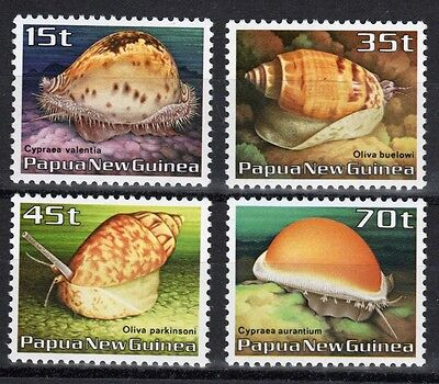 Papua New Guinea set of stamps to celebrate Sea Shells.