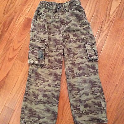 HAWK KIDS Sz/6 Camouflage Hunting Cargo Pants In VERY Good Used CONDITION