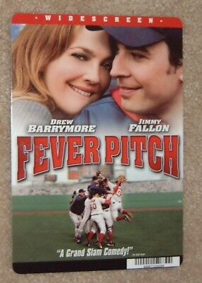 Fever Pitch promo card - Drew Barrymore (this is NOT a movie)