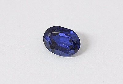 Blau Spinell - Oval - 8,8 x 6,5 x 4,8 mm - 2,44 Ct.- Brechungsindex 1.705