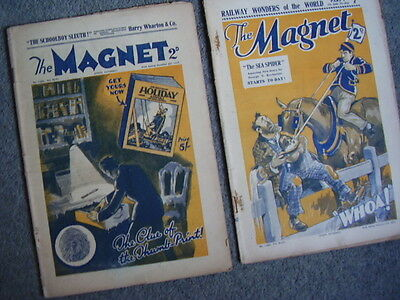THE MAGNET comic. 2 issues  1934/35. Frank Richards