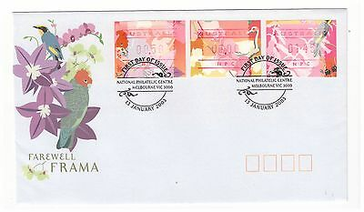 Australia 2003 Vending Machine Label Farewell Frama First Day Cover