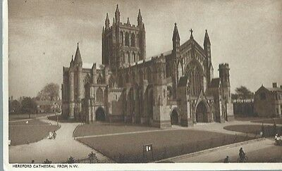 Hereford Cathedral From N.w.,postcard,1947