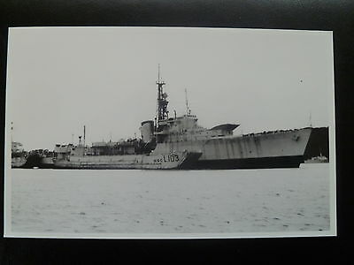 "HMS Zebra. Destroyer.  Real photograph. 5.5"" x 3.5"""
