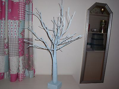 Pale Blue Wired Twig Tree Celebration Wedding Christening Easter Christmas