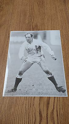 Dusty Hare - England Original Rugby Press Photograph