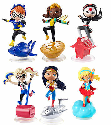 "Mattel DC Super Hero Girls Mini 3"" Vinyl Collectible Figure - NEW 2017"