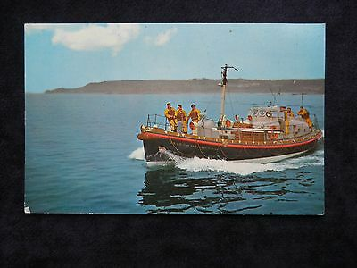 Vintage Postcard Of The St. Mary's Isles Of Scilly Lifeboat