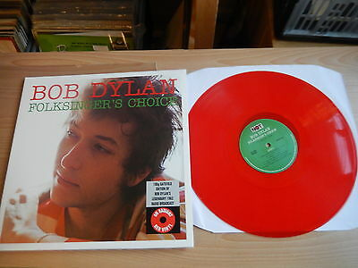 Bob Dylan - 1962 Folksingers Choice (NOT) Limited Edition Red Vinyl