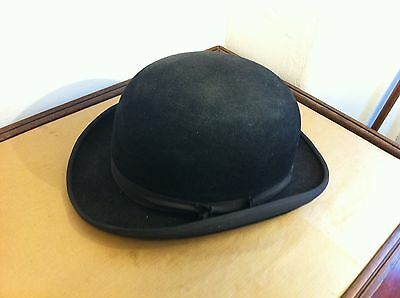 Vintage Bowler Hat - The Triple Crown - Designed By Harry Hall Made In England