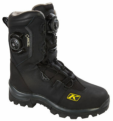 Klim Adrenaline GTX Boa Boot Black Men's Size 7-14