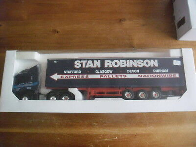 Collectable Eligor 1:43 Scania S4B Stan Robinson Truck.  Boxed.
