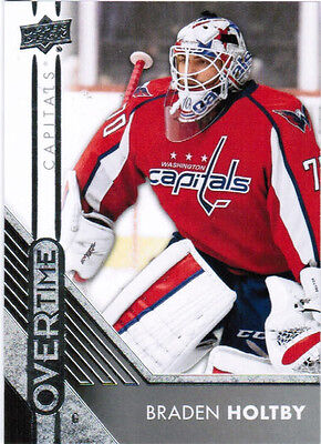 16/17 UD OVERTIME HOCKEY WAVE 2 BASE/ROOKIES CARDS (61-120) U-Pick From List