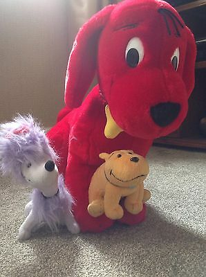 Clifford The Big Red dog Large Plush Kids teddy Approximately 20 Inches