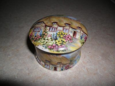 staffordshire bone china trinket box