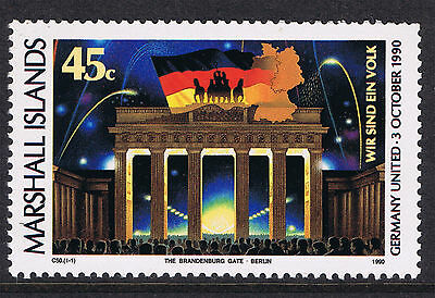 Re-unification of Germany - Marshall Islands Stamp 1990 MINT SG350