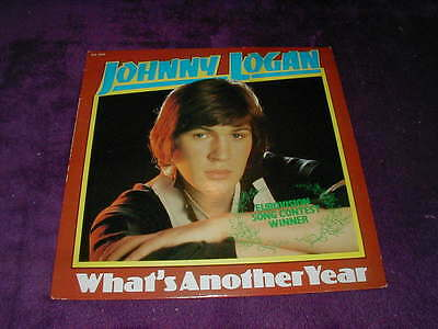 Johnny Logan, What's Another Year ,vinyl Lp Eurovision Song Contest Winner