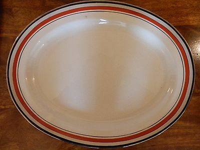 Rare Booths Oval Meat Plate - Pattern A4965 - Good Condition