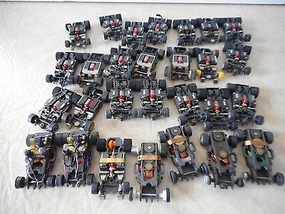 Aurora Afx/g-Plus/tomy Parts Chassis Lot  (For Parts Or Repair)