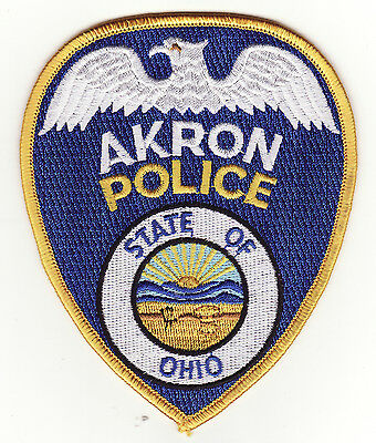 Akron Ohio Police Patch *New*