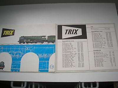 Trix Railway Catalogue 1964 - Good Condition With Price List.