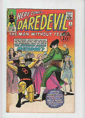 Daredevil #5, 1st Appearance the Matador