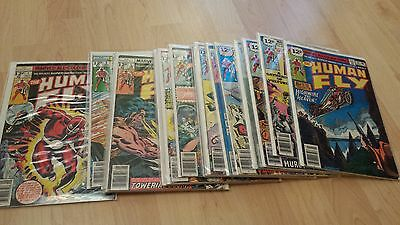 Human Fly 1-19,  Marvel Comics