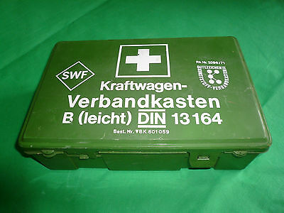 Vehicle First Aid Kit DIN 13164 Medical Emergency Kit In Plastic Box