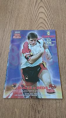 Bradford Bulls v Salford Reds 1998 Rugby League Programme