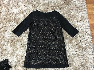 ladies black lace maternity dress by blooming marvellous 12