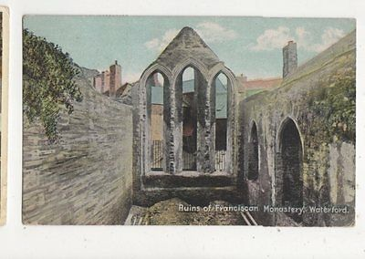 Ruins Of Franciscan Monastery Waterford Ireland 1919 Postcard 422a